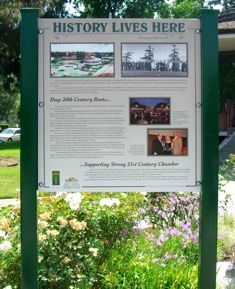 Historical Marker in Arcadia California