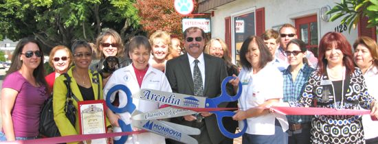 ribbon-cutting ceremony in Arcadia, California