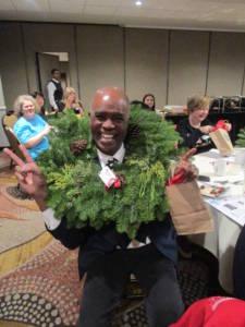 Dr Seth wreath