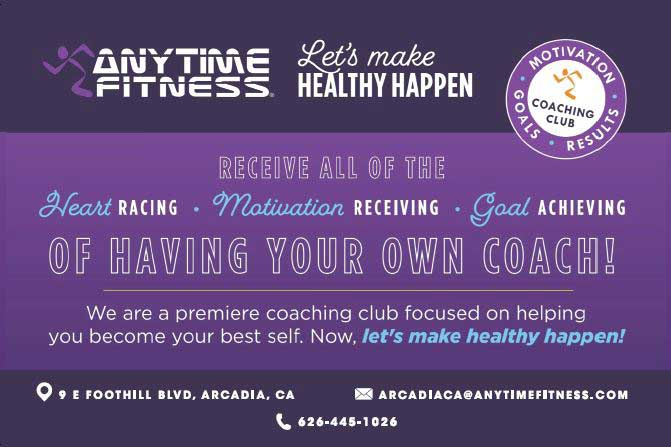 Anytime Fitness let's make health happen
