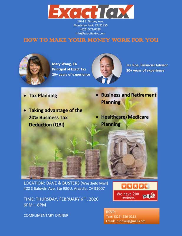 Make Your Money Work for You with Jae Roe