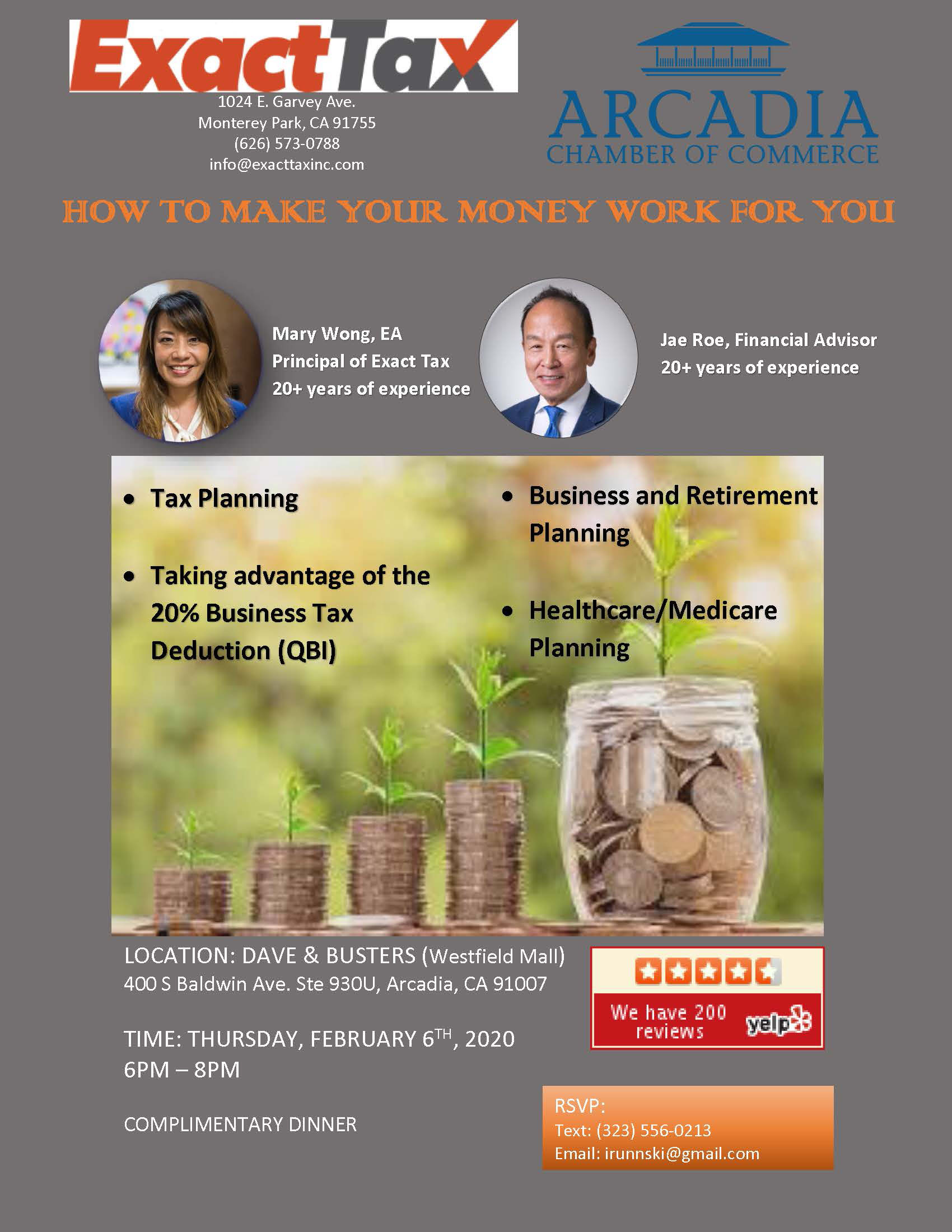 How to make your money work for you with Jae Roe