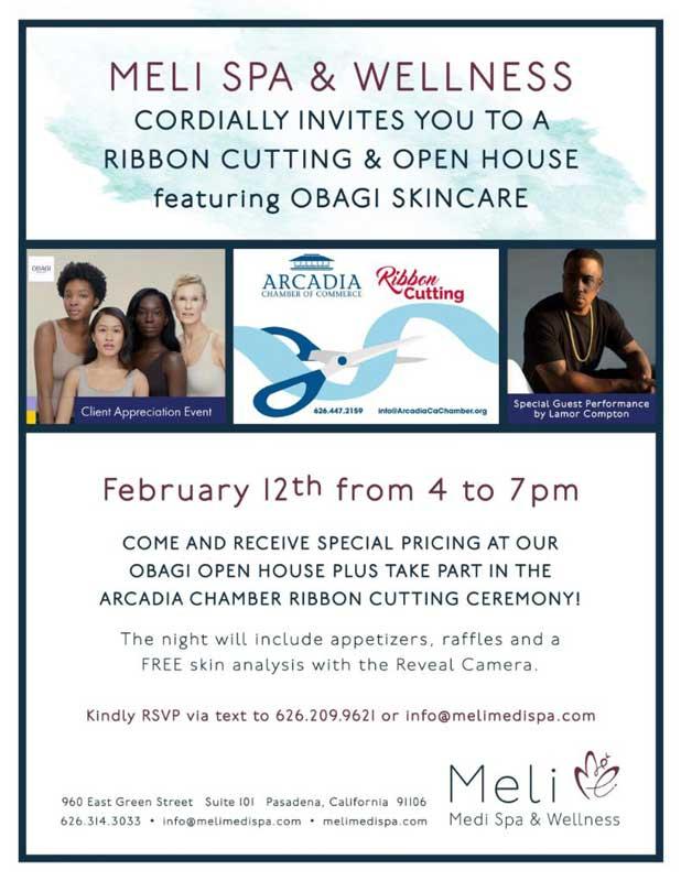 Meli Medi Spa & Wellness ribbon cutting and open house