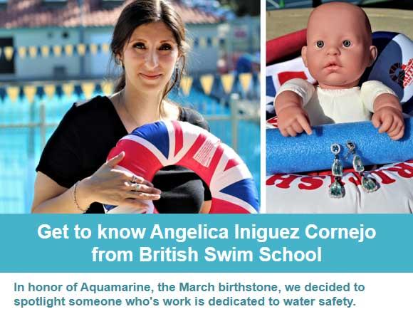 Get to Know Angelica Iniguez Cornejo from British Swim School
