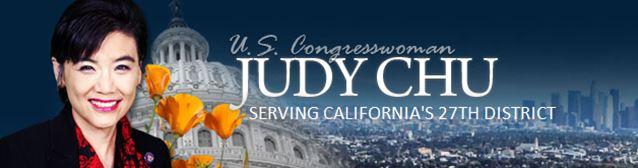 Congresswoman Judy Chu