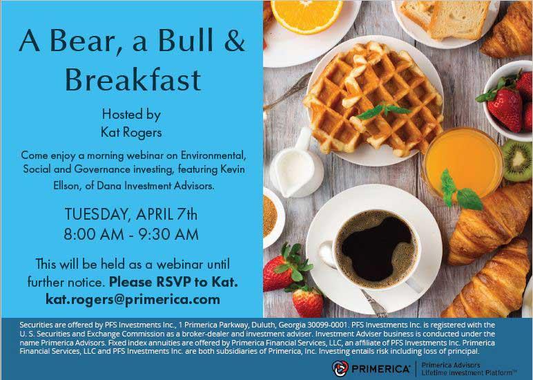 Bull, Bear and Breakfast Webinar with Kat Rogers