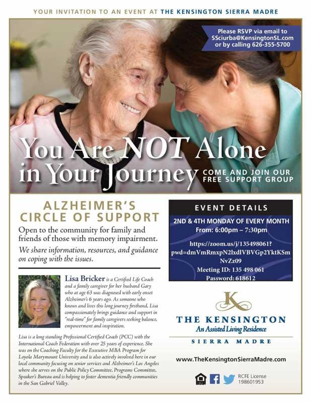 The Kensington Virtual Caregivers Circle