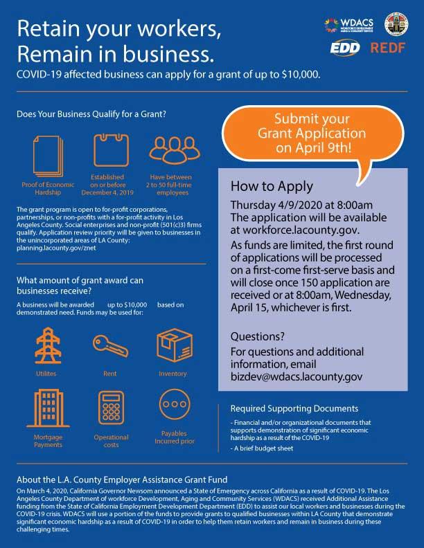 LA County Grant Application Information