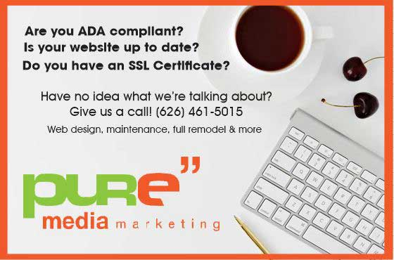 Pure Media Marketing for all your website needs