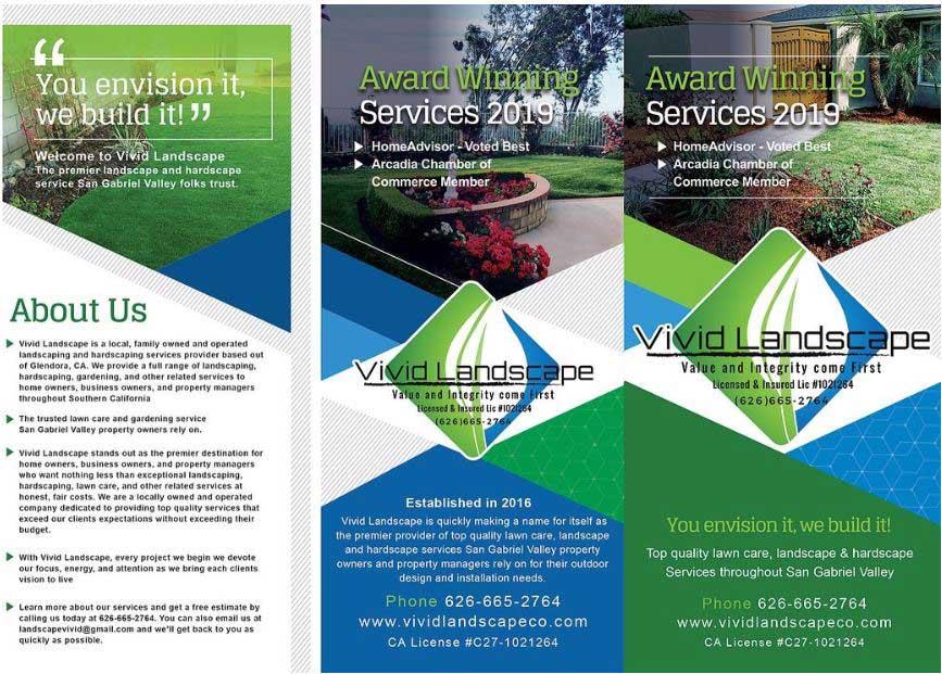 Vivid Landscape brochure page 1