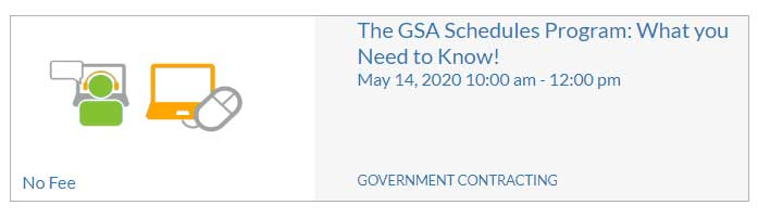 GSA Schedules Program What You Need to Know