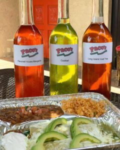 Paco's Mexican Cuisine cocktails for mom