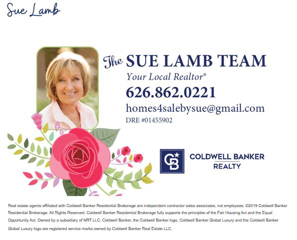 Sue Lamb your local realtor