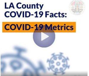 LA County COVID-19 Facts Metrics video