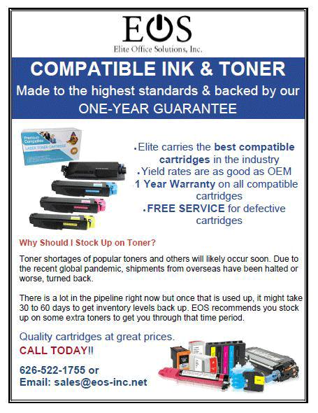 Elite Office Solutions Compatible Ink & Toner