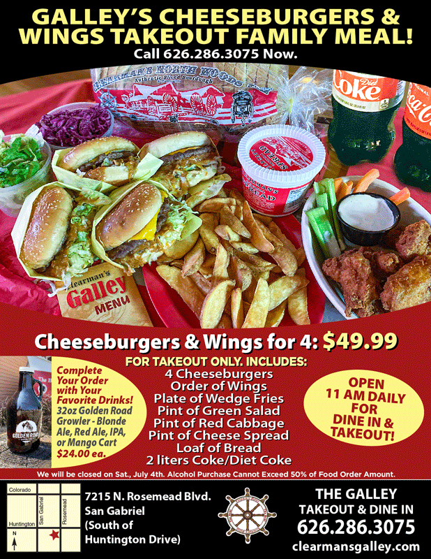 Galley's Cheeseburgers & Wings takeout
