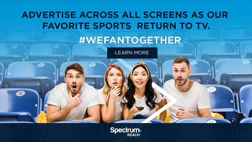 Advertise Across All Screens - Ad for Spectrum Banner