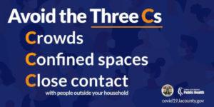 Avoid the three ca