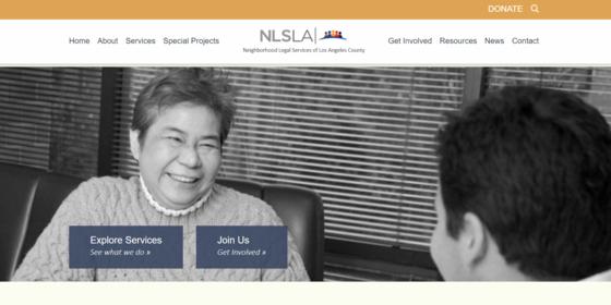 NLSLA explore services
