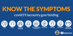 Time for a test - know the symptoms