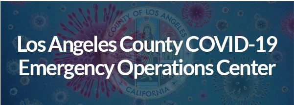 LA County COVID-19 Emergency Operations Center
