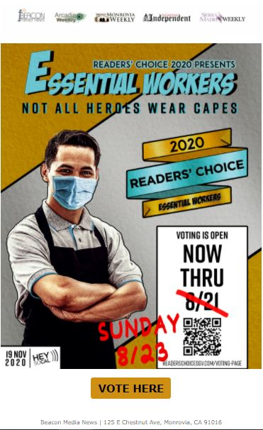Beacon Media voting extended for readers' choice