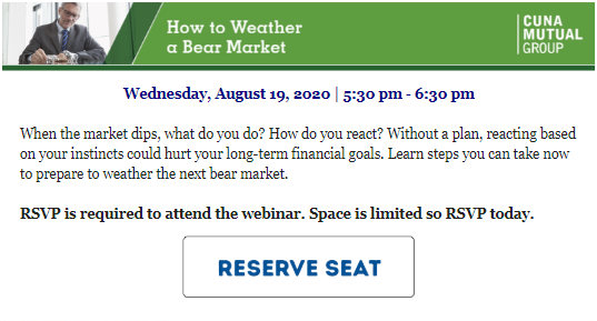 Foothill Credit Union How to Weather Webinar