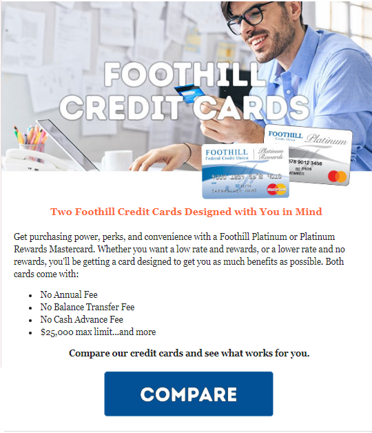 Foothill Credit Cards