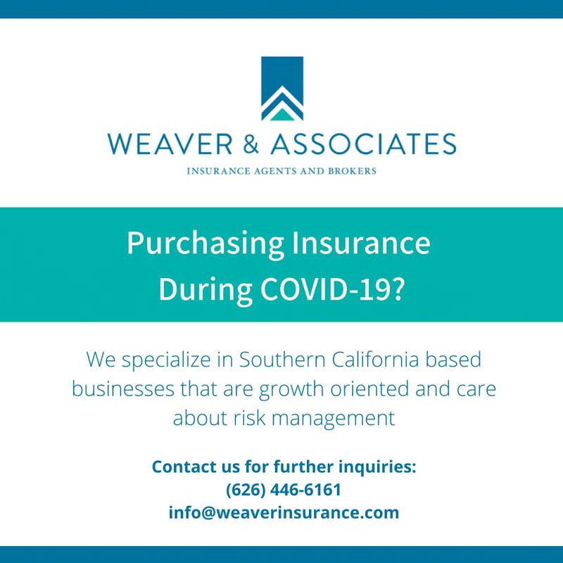 Weaver & Associates COVID insurance