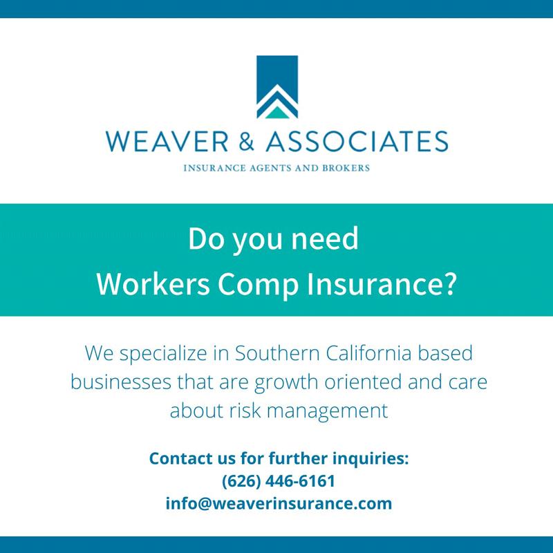 Weaver & Associates workers comp insurance