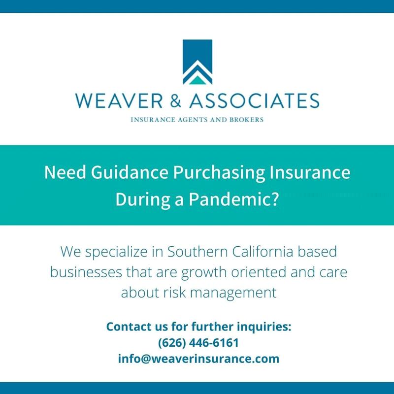 Weaver & Associates pandemic insurance