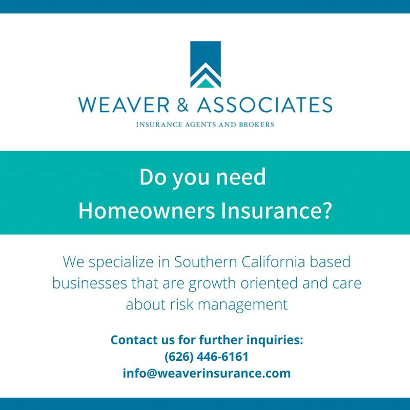 Weaver & Associates homeowners insurance