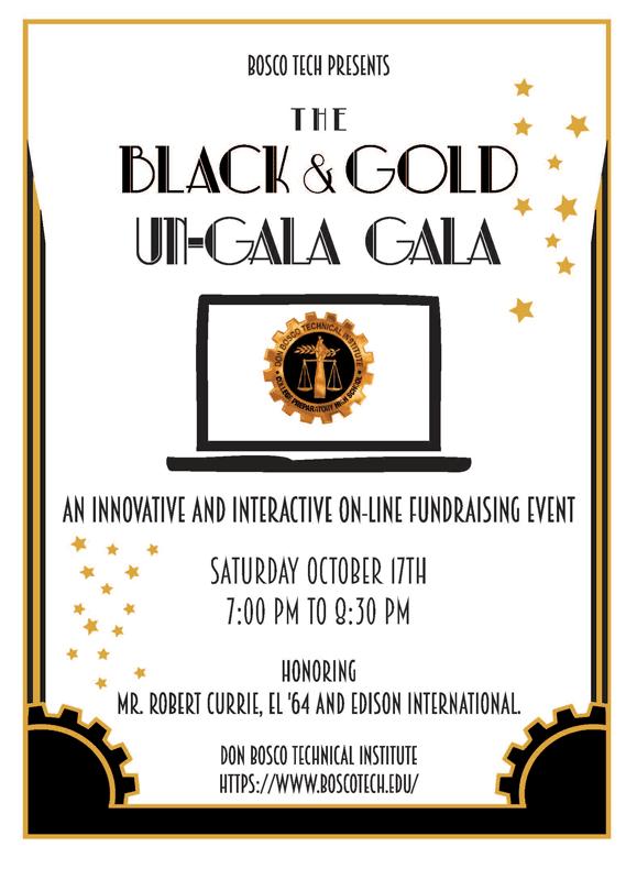 Bosco Tech Back & Gold Un-Gala Gala