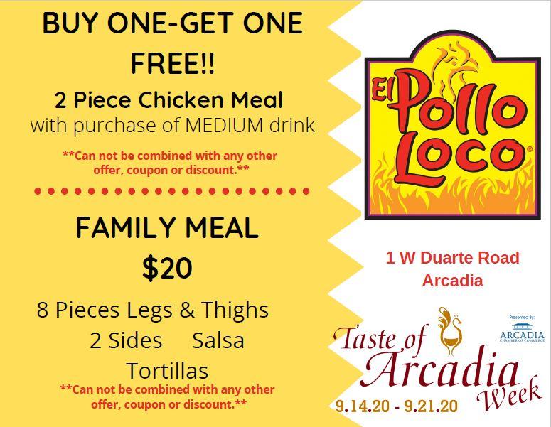 El Pollo Loco flyer 2