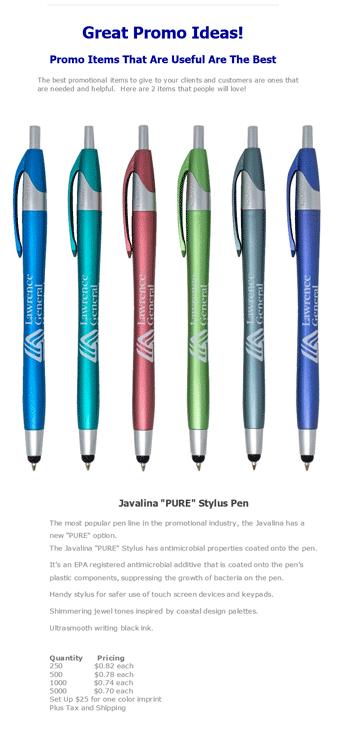 Promo Ideas Javalina Pens