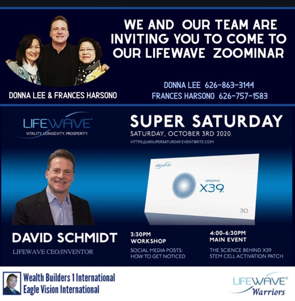 Lifewave Zoominar