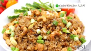 White Springs Cafe cashew fried rice