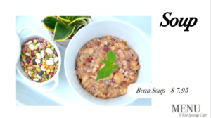 White Springs bean soup