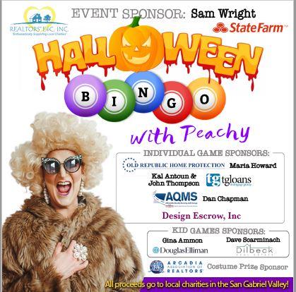 Arcadia Association of Realtors Halloween Bingo