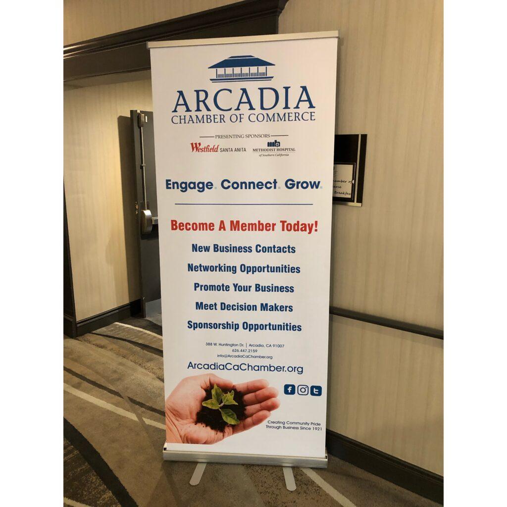 Arcadia Chamber banner