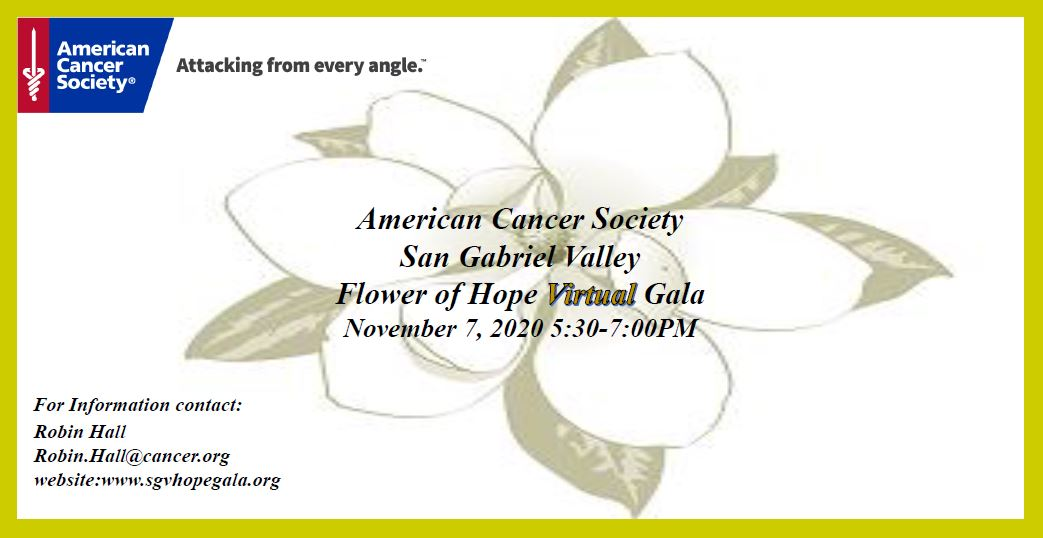 American Cancer Society Flower of Hope Gala