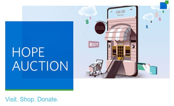 City of Hope Auction Announcement