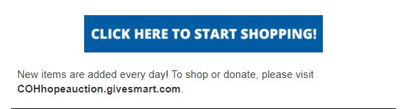 City of Hope start shopping button
