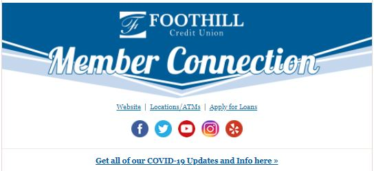 Foothill Credit Union Newletter October