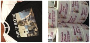 Imprintability t-shirts and stickers