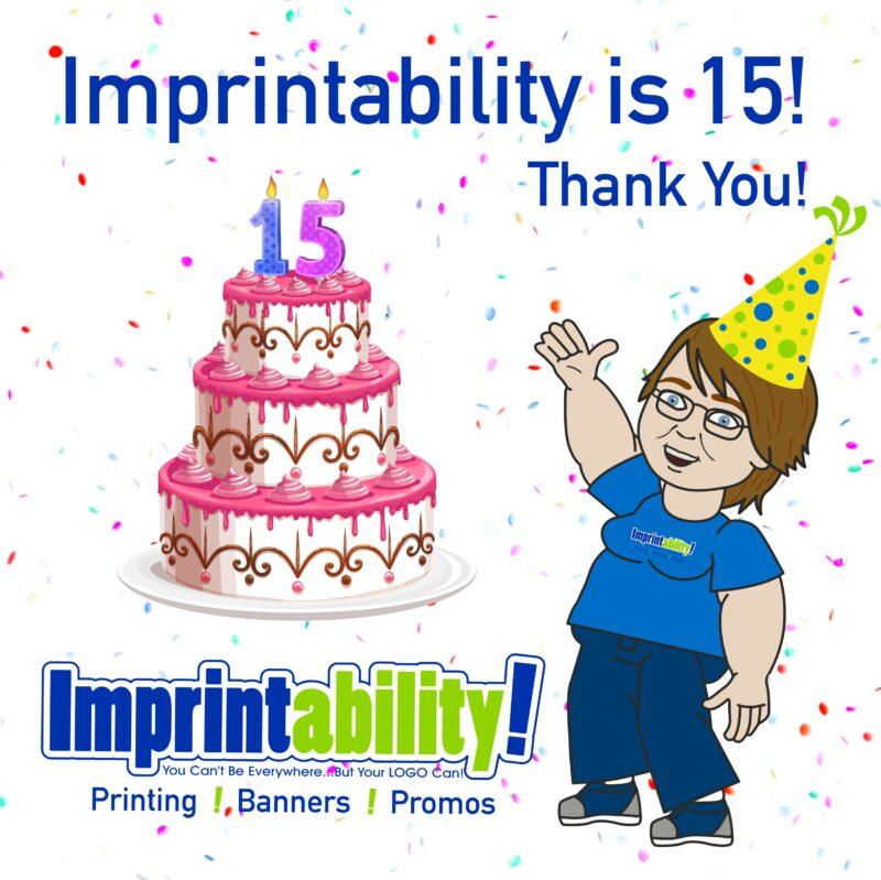 Imprintability celebrates 15 years