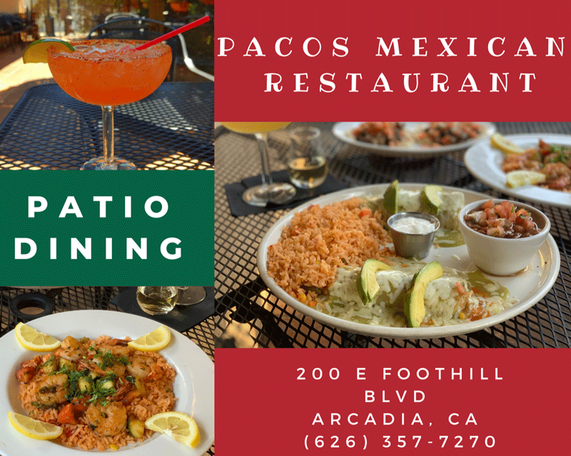 Paco's Mexican Restaurant Patio Dining