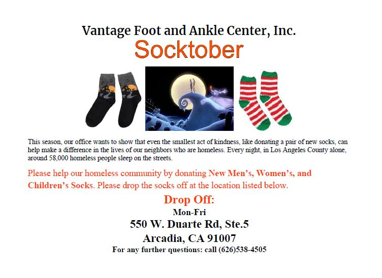 Vantage Foot & Ankle Sock Drive