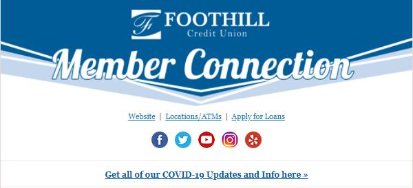 Foothill Credit Union November Newsletter