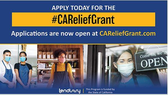 CA Cares Relief Grant